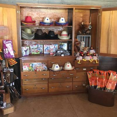 The General Store is full of goodies and will open on the weekends starting in May!