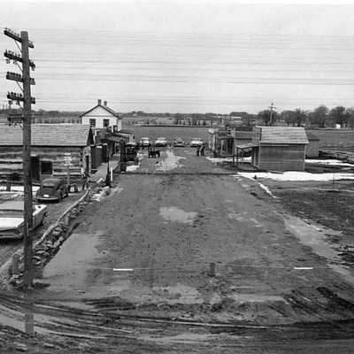 The beginning of Old Abilene Town, look how far we've come!