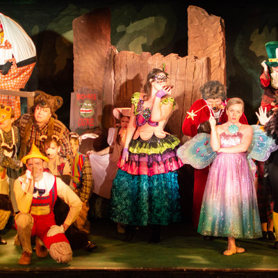 "Characters from the production of ""Shrek"""